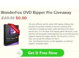 """Gratis: """"WonderFox DVD Ripper Pro"""" für kurze Zeit komplett kostenlos"""