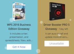 Gratis: WPS Business Edition 2016 bis Freitag zum Nulltarif