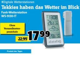 Conrad: Funk-Wetterstation WS-9130-IT für 17,99 Euro frei Haus