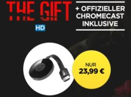 """Wuaki.tv: Google Chromecast & Film """"The Gift"""" für 23,99 Euro"""