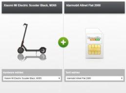 Klarmobil: eScooter im Wert von 385 Euro zum Vodafone-Vertrag über 504,70 Euro
