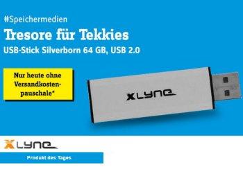 Conrad: USB-Stick mit 64 GByte und USB 2.0 für 9,99 Euro frei Haus