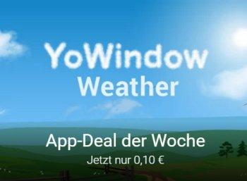 """Google Play: Wetter-App """"Yo Window Weather"""" für zehn Cent"""