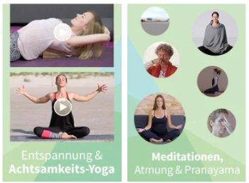 Gratis: Drei Monate Online-Yoga zum Nulltarif