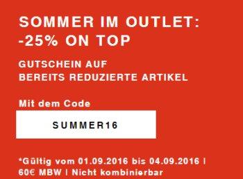 Zalando: 25 Prozent Rabatt auf bereits reduzierte Sale-Artikel bis Sonntag