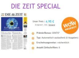 """""""Die Zeit"""": Mini-Abo mit automatischem Ende für nur 4,95 Euro"""